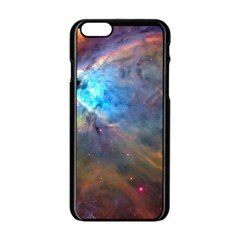 Orion Nebula Apple Iphone 6/6s Black Enamel Case by trendistuff
