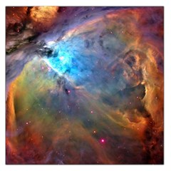 Orion Nebula Large Satin Scarf (square) by trendistuff