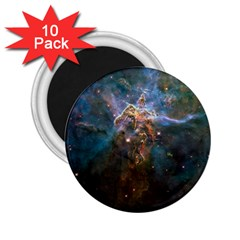 Mystic Mountain 2 25  Magnets (10 Pack)  by trendistuff