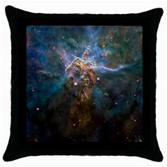 Mystic Mountain Throw Pillow Cases (black) by trendistuff