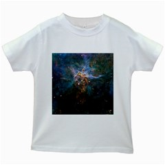 Mystic Mountain Kids White T Shirts