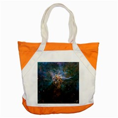 Mystic Mountain Accent Tote Bag  by trendistuff