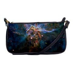Mystic Mountain Shoulder Clutch Bags by trendistuff