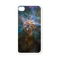 Mystic Mountain Apple Iphone 4 Case (white) by trendistuff