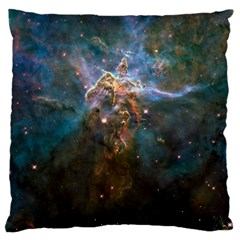 Mystic Mountain Large Cushion Cases (one Side)  by trendistuff