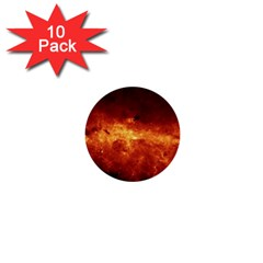 Milky Way Clouds 1  Mini Buttons (10 Pack)  by trendistuff