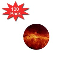 Milky Way Clouds 1  Mini Magnets (100 Pack)  by trendistuff