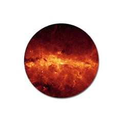 Milky Way Clouds Magnet 3  (round) by trendistuff