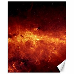Milky Way Clouds Canvas 11  X 14   by trendistuff