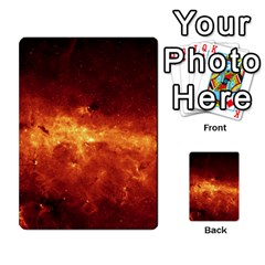 Milky Way Clouds Multi Purpose Cards (rectangle)  by trendistuff
