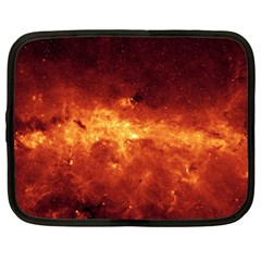 Milky Way Clouds Netbook Case (large) by trendistuff