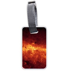 Milky Way Clouds Luggage Tags (two Sides) by trendistuff