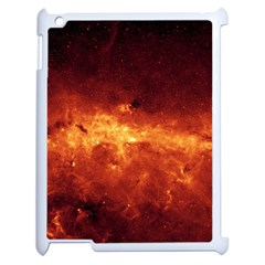 Milky Way Clouds Apple Ipad 2 Case (white) by trendistuff