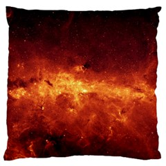 Milky Way Clouds Large Flano Cushion Cases (two Sides)  by trendistuff