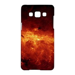 Milky Way Clouds Samsung Galaxy A5 Hardshell Case  by trendistuff