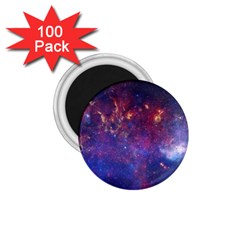 Milky Way Center 1 75  Magnets (100 Pack)  by trendistuff