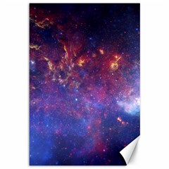 Milky Way Center Canvas 12  X 18   by trendistuff