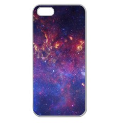 Milky Way Center Apple Seamless Iphone 5 Case (clear) by trendistuff