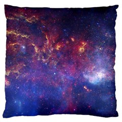 Milky Way Center Standard Flano Cushion Cases (one Side)  by trendistuff