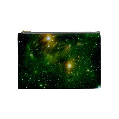 Hydrocarbons In Space Cosmetic Bag (medium)  by trendistuff