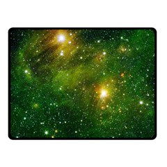 Hydrocarbons In Space Fleece Blanket (small)