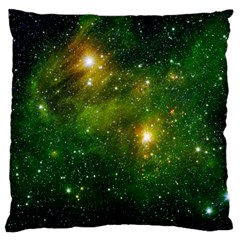 Hydrocarbons In Space Large Flano Cushion Cases (one Side)  by trendistuff