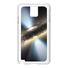 Hidden Black Hole Samsung Galaxy Note 3 N9005 Case (white) by trendistuff