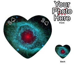 Helix Nebula Playing Cards 54 (heart)  by trendistuff