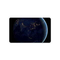 Global Night Magnet (name Card) by trendistuff