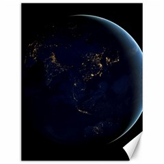 Global Night Canvas 12  X 16   by trendistuff