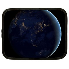 Global Night Netbook Case (large) by trendistuff