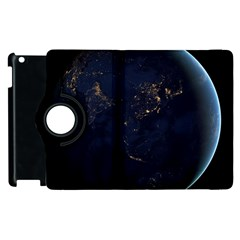 Global Night Apple Ipad 3/4 Flip 360 Case by trendistuff