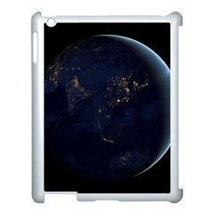 Global Night Apple Ipad 3/4 Case (white) by trendistuff