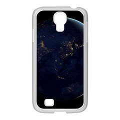 Global Night Samsung Galaxy S4 I9500/ I9505 Case (white) by trendistuff