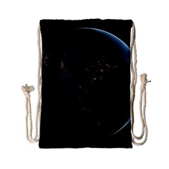 Global Night Drawstring Bag (small) by trendistuff