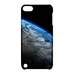 Earth Orbit Apple Ipod Touch 5 Hardshell Case With Stand by trendistuff