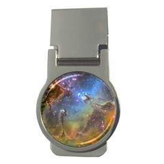 Eagle Nebula Money Clips (round)  by trendistuff