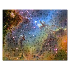 Eagle Nebula Rectangular Jigsaw Puzzl by trendistuff