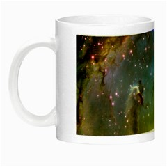 Eagle Nebula Night Luminous Mugs by trendistuff