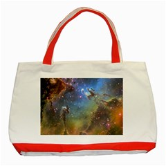 Eagle Nebula Classic Tote Bag (red)  by trendistuff
