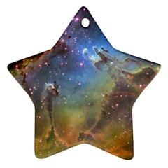 Eagle Nebula Star Ornament (two Sides)  by trendistuff