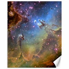 Eagle Nebula Canvas 11  X 14   by trendistuff