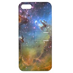 Eagle Nebula Apple Iphone 5 Hardshell Case With Stand by trendistuff