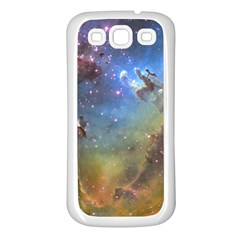 Eagle Nebula Samsung Galaxy S3 Back Case (white) by trendistuff