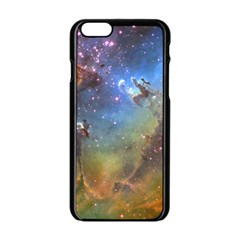 Eagle Nebula Apple Iphone 6/6s Black Enamel Case by trendistuff