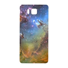 Eagle Nebula Samsung Galaxy Alpha Hardshell Back Case by trendistuff