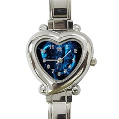 Cygnus Loop Heart Italian Charm Watch by trendistuff