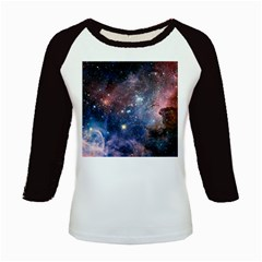 Carina Nebula Kids Baseball Jerseys by trendistuff