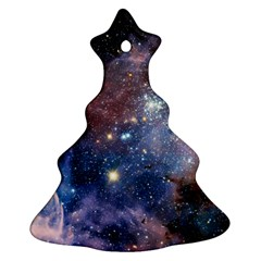 Carina Nebula Christmas Tree Ornament (2 Sides) by trendistuff