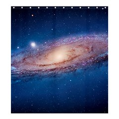 Andromeda Shower Curtain 66  X 72  (large)  by trendistuff